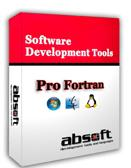 Absoft Pro Fortran Compiler Suite for Intel Mac OS X (ESD) 1 User Floating, academic